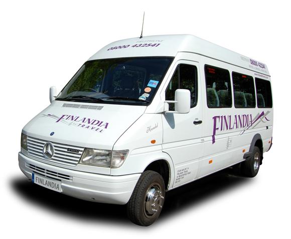 Finlandia Travel Doncaster Minibus Hire